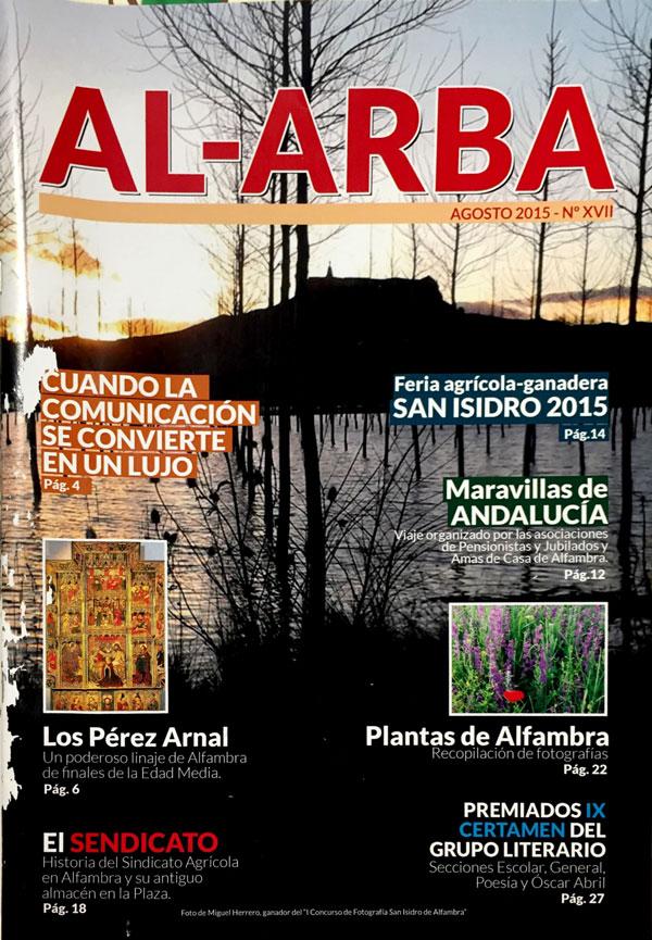 Portada revista Al-Arba