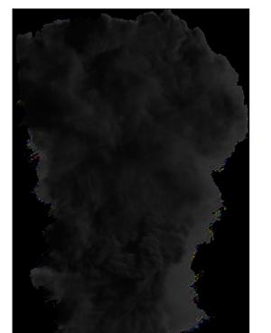 humo negro