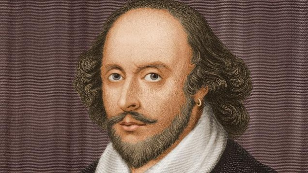 450 aniversario del nacimiento de William Shakespeare