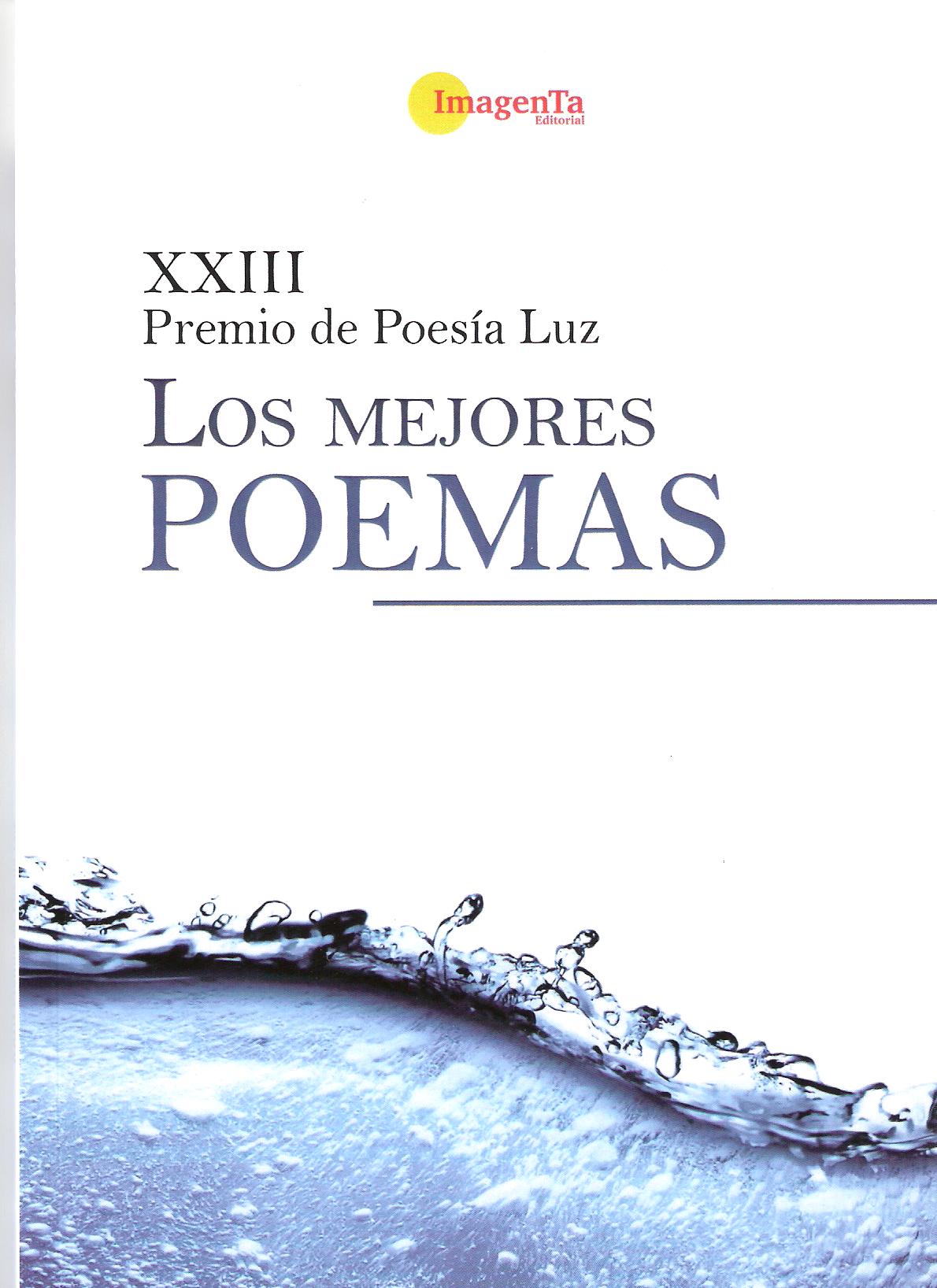 XXIII premio de poesía Luz