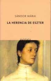 Sandor Marai La herencia de Eszter